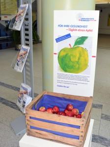 Zugreifen und Gutes tun: Für die Gesundheit und die regionalen Obstbaubetriebe Bildrechte: (c) Universitätsklinikum Freiburg