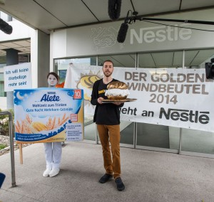 foodwatch Goldener Windbeutel 2014