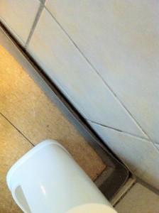 Ein Badezimmer gab es nicht. Lediglich Toilette mit Waschbecken. Allerdings alles total siffig.