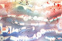 Die Bilder der Zartener Kindergartenkinder verschönern Patientenzimmer und Flure der Station Schönheimer im Universitätsklinikum Freiburg Bildrechte: Universitätsklinikum Freiburg