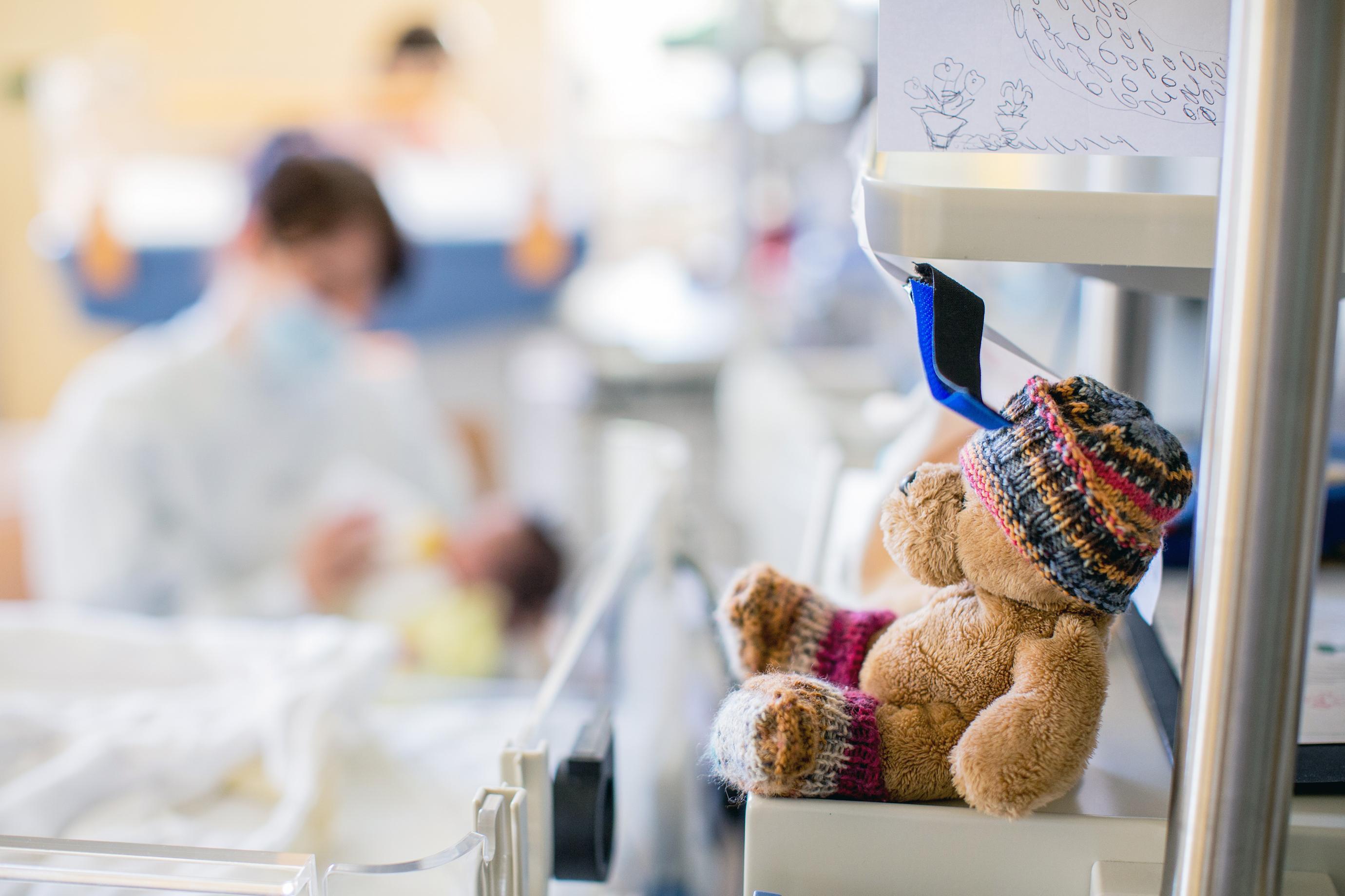Blick in die Neugeborenen-Intensivstation 1 / Bildrechte: Universitätsklinikum Freiburg