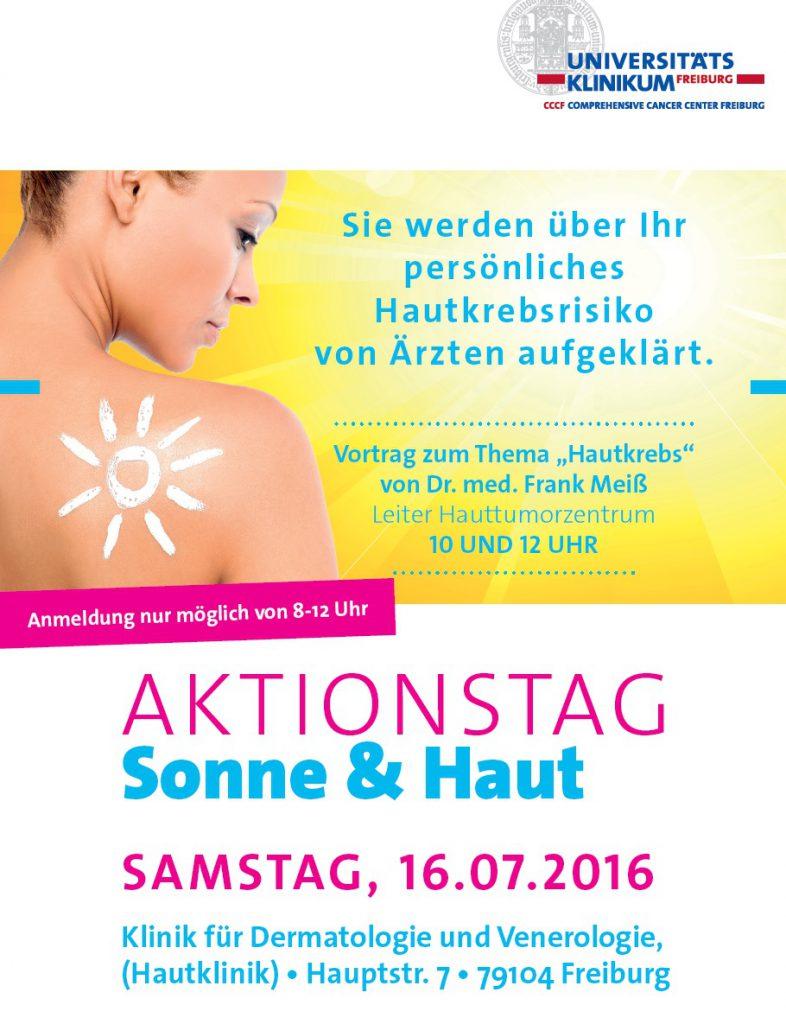 Aktionstag Sonne und Haut