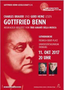 Leseung mit Charles Brauer in Freiburg