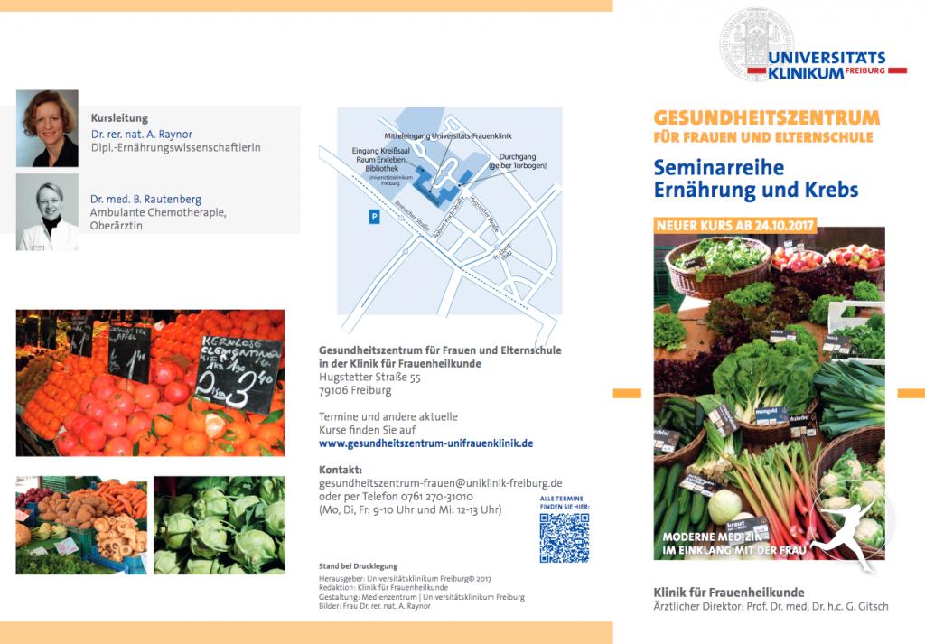 Seminarreihe Ernährung und Krebs