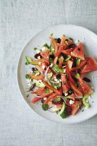 Griechischer Salat mit Wassermelone (c) Jan Baldwin