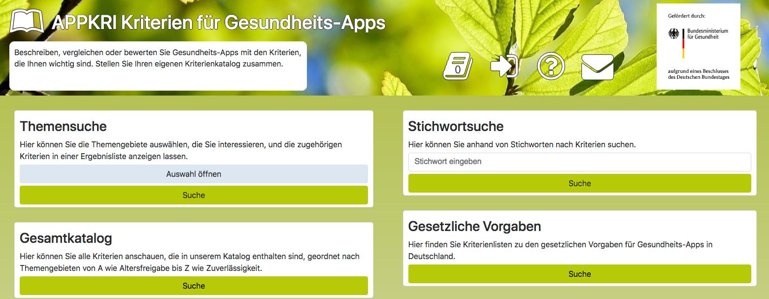 Screenshot AppKri