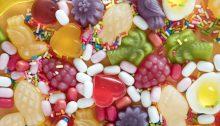 Süßigkeiten soweit das Auge reicht