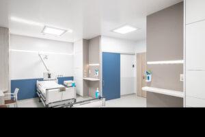 Blick in das Patientenzimmer der Zukunft.