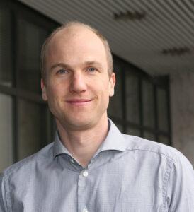Prof. Richard Neher, Universität Basel.  © Biozentrum Basel/ Annette Roulier