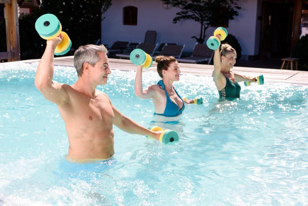 Gesunde Bewegung im Wasser